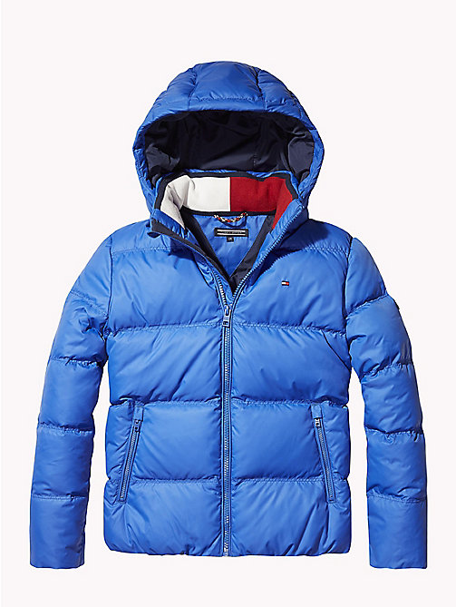 TOMMY HILFIGER Recycled Material Padded Down Jacket - OLYMPIAN BLUE - TOMMY HILFIGER Coats & Jackets - main image