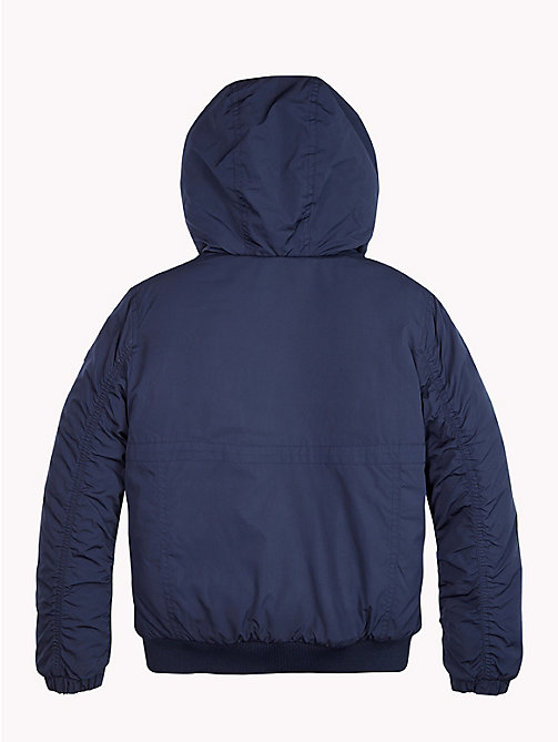 TOMMY HILFIGER Padded Hooded Jacket - BLACK IRIS - TOMMY HILFIGER Boys - detail image 1