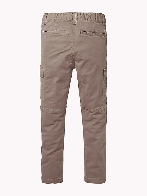 TOMMY HILFIGER Cargo Trousers - WALNUT - TOMMY HILFIGER Boys - detail image 1