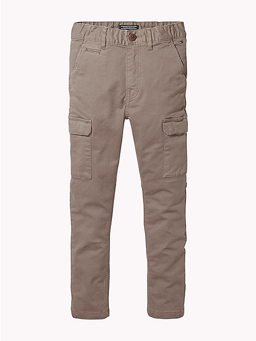 TOMMY HILFIGER Cargo Trousers - WALNUT - TOMMY HILFIGER Trousers & Shorts - main image