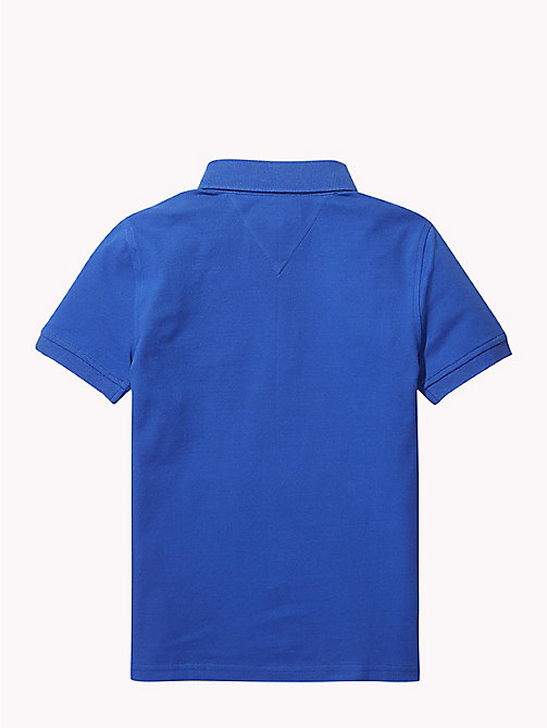 TOMMY HILFIGER Organic Cotton Polo Shirt - OLYMPIAN BLUE - TOMMY HILFIGER T-shirts & Polos - detail image 1