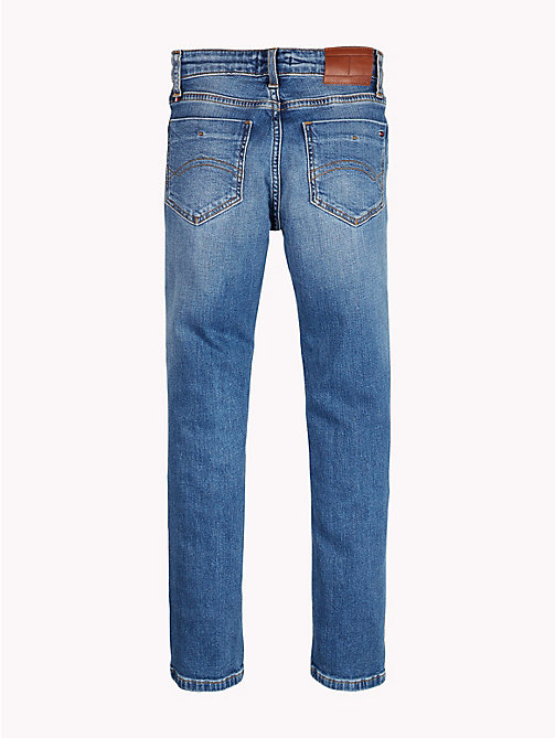 TOMMY HILFIGER Scanton slim fit jeans - NEW YORK MID DESTRUCTED - TOMMY HILFIGER Jongens - detail image 1