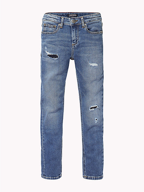TOMMY HILFIGER Jean coupe slim Scanton - NEW YORK MID DESTRUCTED - TOMMY HILFIGER Jeans - image principale