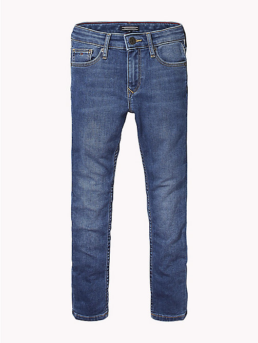 TOMMY HILFIGER Mid-Wash Skinny Jeans - NAMPA BRUSH MID STRETCH - TOMMY HILFIGER Boys - main image