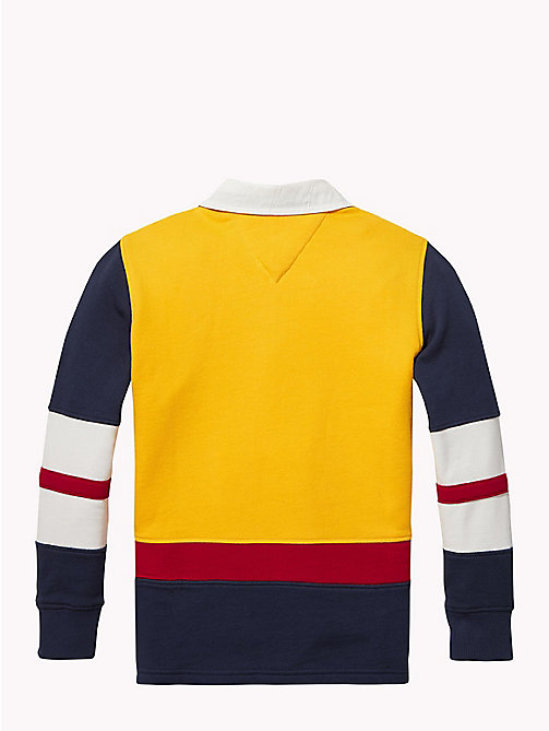 TOMMY HILFIGER Tommy Hilfiger Rugby-Shirt - SPECTRA YELLOW / MULTI - TOMMY HILFIGER T-shirts & Poloshirts - main image 1