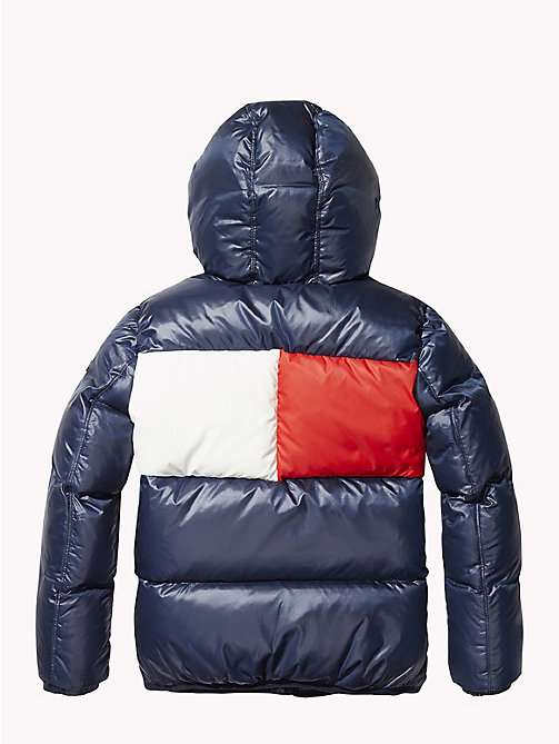 TOMMY HILFIGER Padded Flag Jacket - BLACK IRIS - TOMMY HILFIGER Boys - detail image 1