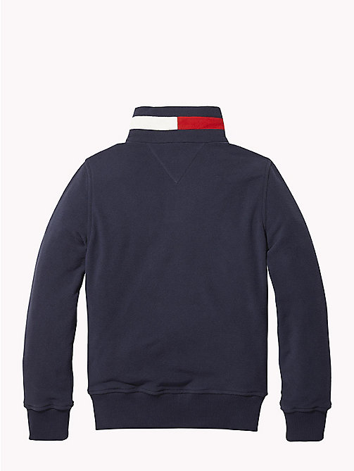 TOMMY HILFIGER Polar Fleece Sweatshirt - BLACK IRIS - TOMMY HILFIGER Sweatshirts & Hoodies - detail image 1