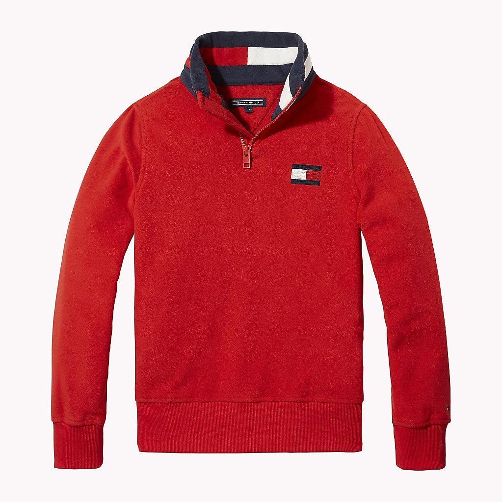 Tommy Hilfiger - Sweatshirt aus Polarfleece - 1