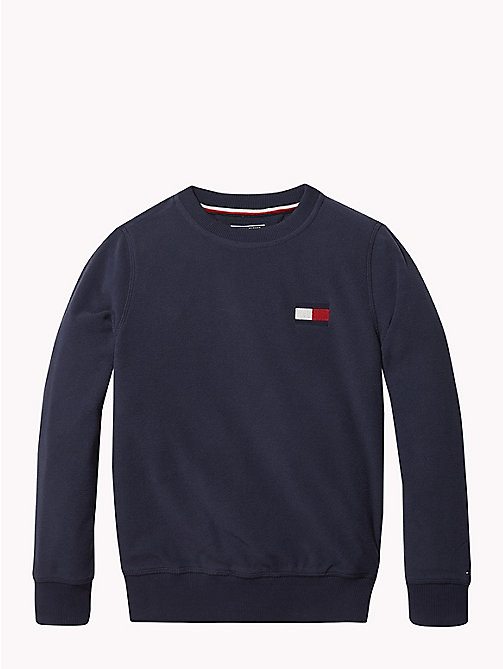 TOMMY HILFIGER Polar Fleece Sweatshirt - BLACK IRIS - TOMMY HILFIGER Sweatshirts & Hoodies - main image