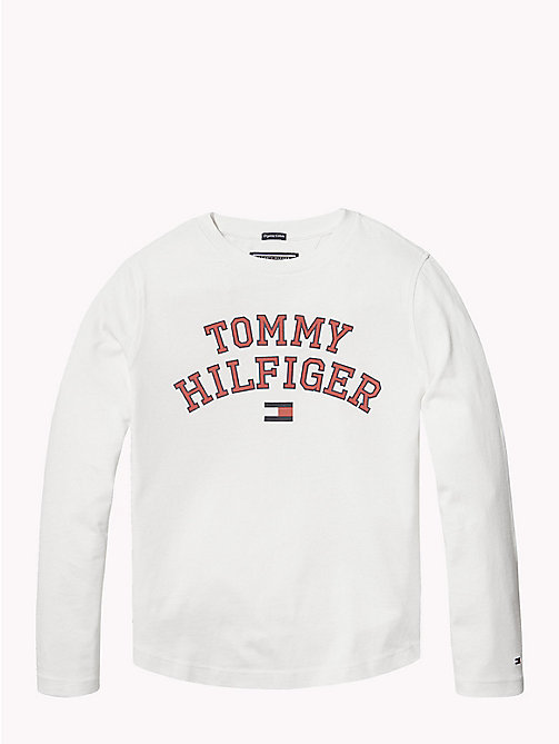 TOMMY HILFIGER Tommy Hilfiger Logo T-shirt - BRIGHT WHITE - TOMMY HILFIGER Boys - main image