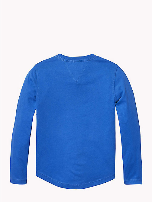 TOMMY HILFIGER Tommy Hilfiger Logo Sweatshirt - OLYMPIAN BLUE - TOMMY HILFIGER T-shirts & Polos - detail image 1