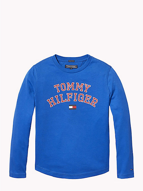 TOMMY HILFIGER Tommy Hilfiger Logo T-shirt - OLYMPIAN BLUE - TOMMY HILFIGER T-shirts & Polos - main image