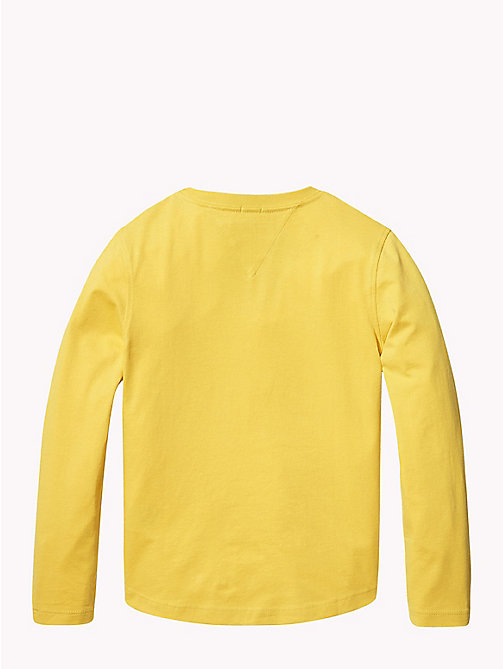 TOMMY HILFIGER Tommy Hilfiger Logo Sweatshirt - SPECTRA YELLOW - TOMMY HILFIGER T-shirts & Polos - detail image 1