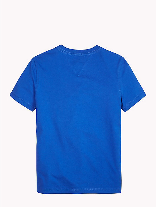TOMMY HILFIGER Organic Cotton T-Shirt - OLYMPIAN BLUE - TOMMY HILFIGER T-shirts & Polos - detail image 1