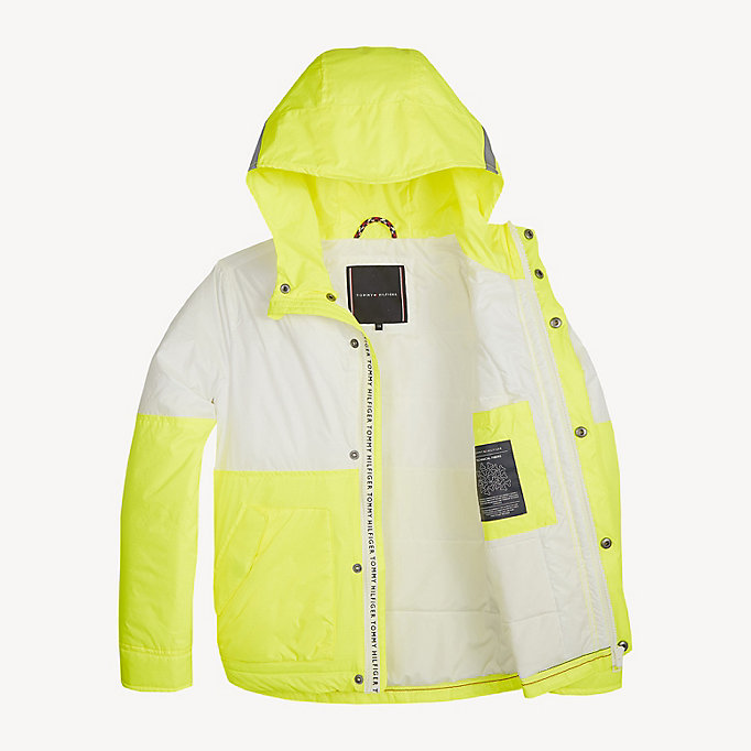 8c9657b5387 Neon Hooded Jacket | Tommy Hilfiger