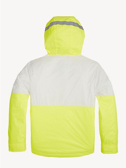 TOMMY HILFIGER Neon Hooded Jacket - SAFETY YELLOW - TOMMY HILFIGER Coats & Jackets - detail image 1