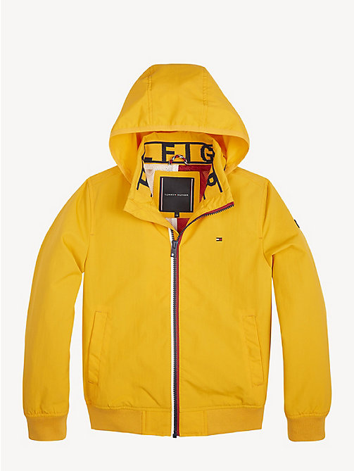 TOMMY HILFIGER Nylon Bomber Jacket - RADIANT YELLOW - TOMMY HILFIGER Coats & Jackets - main image