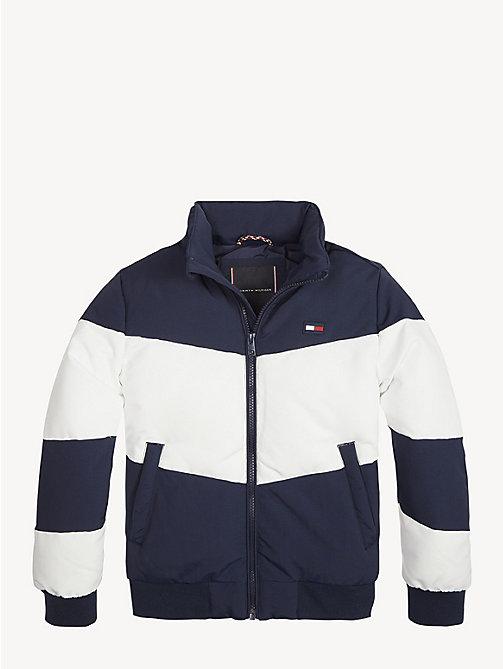 bd472e7f TOMMY HILFIGERChevron Concealed Hood Jacket. From €124.00