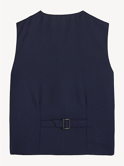 TOMMY HILFIGER Structured Waistcoat - BLACK IRIS - TOMMY HILFIGER Coats & Jackets - detail image 1