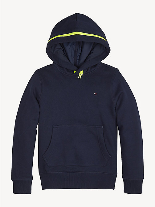 TOMMY HILFIGER Sweat à capuche double zip - BLACK IRIS - TOMMY HILFIGER Sweats - image détaillée 1