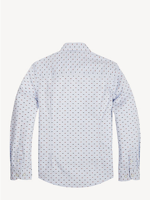TOMMY HILFIGER Gingham Check Shirt - BRIGHT WHITE / MULTI - TOMMY HILFIGER Shirts - detail image 1