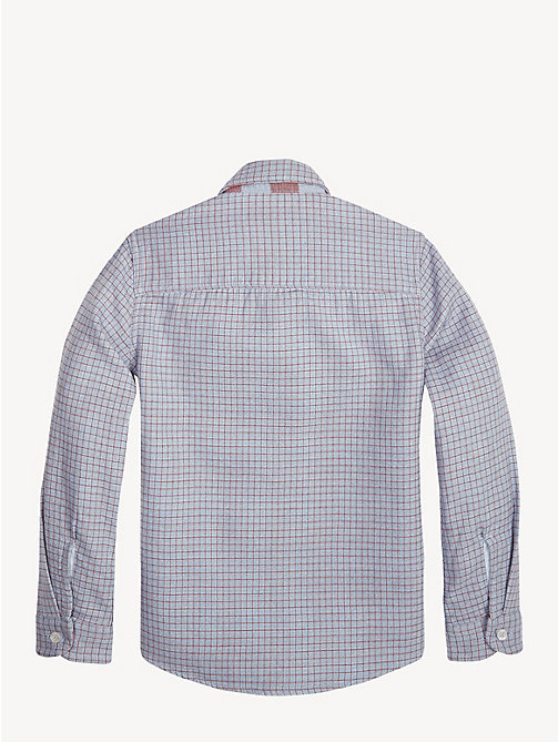 TOMMY HILFIGER Reversible Check Print Shirt - CORONET BLUE / MULTI - TOMMY HILFIGER Shirts - detail image 1