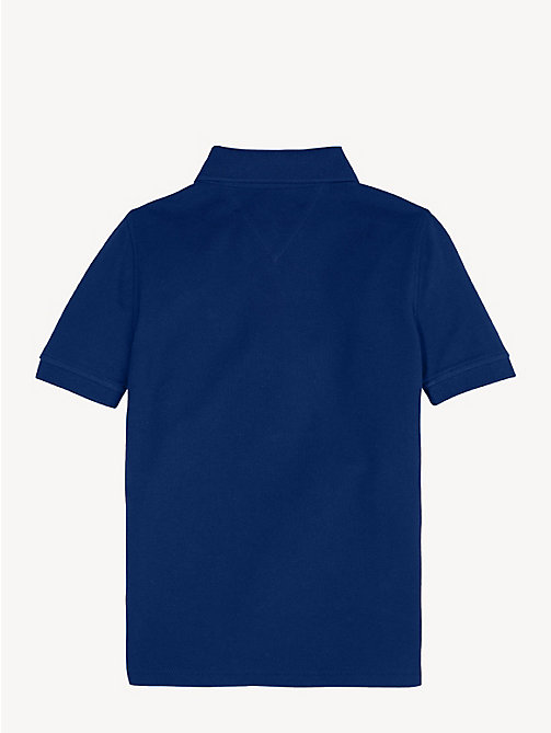 TOMMY HILFIGER Slim fit poloshirt - BLACK IRIS - TOMMY HILFIGER T-shirts & Polo's - detail image 1