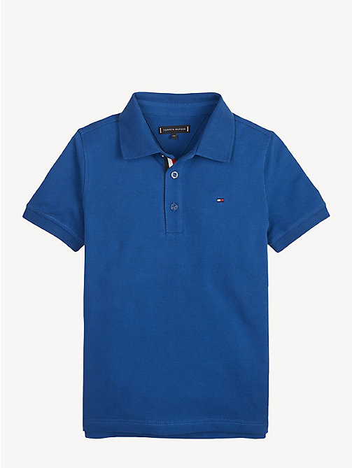 TOMMY HILFIGER Slim Fit Polo Shirt - LIMOGES - TOMMY HILFIGER T-shirts & Polos - main image