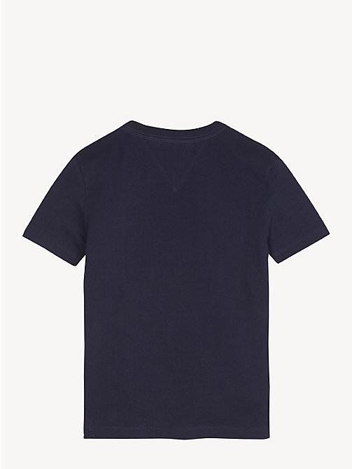 TOMMY HILFIGER Nautical Team T-Shirt - BLACK IRIS - TOMMY HILFIGER T-shirts & Polos - detail image 1