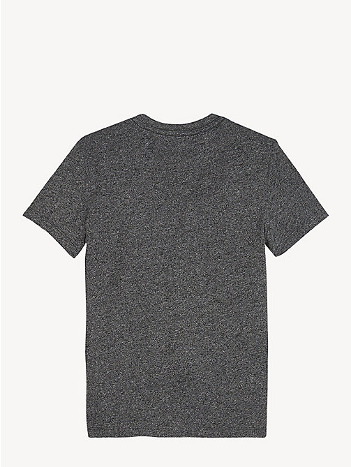 TOMMY HILFIGER Jaspe Jersey T-Shirt - TOMMY BLACK - TOMMY HILFIGER T-shirts & Polos - detail image 1