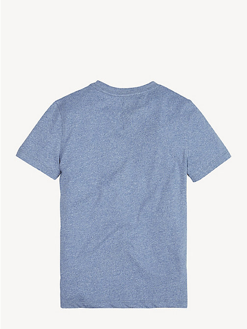 TOMMY HILFIGER Jaspe Jersey T-Shirt - CORONET BLUE - TOMMY HILFIGER T-shirts & Polos - detail image 1