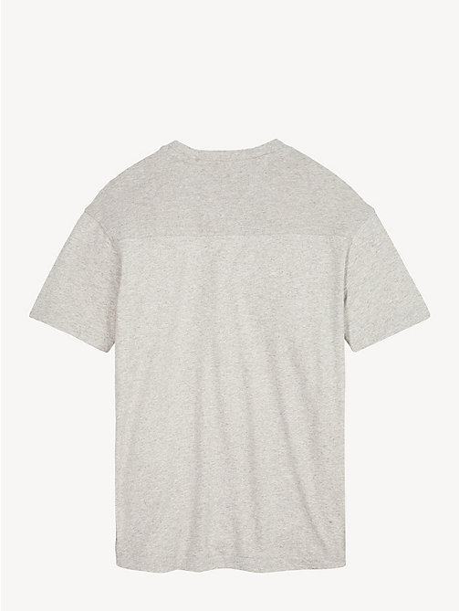 TOMMY HILFIGER T-shirt colour-block - GREY HEATHER - TOMMY HILFIGER Garçons - image détaillée 1