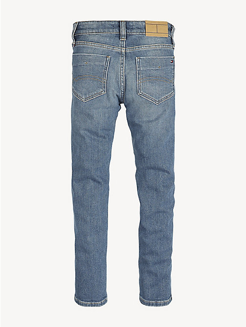 TOMMY HILFIGER Scanton Slim Fit Faded Jeans - CEDAR BLUE STRETCH - TOMMY HILFIGER Jeans - detail image 1
