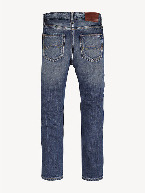 TOMMY HILFIGER Jeans met stervormige distressing - STAR PATCH BLUE RIGID - TOMMY HILFIGER Jeans - detail image 1