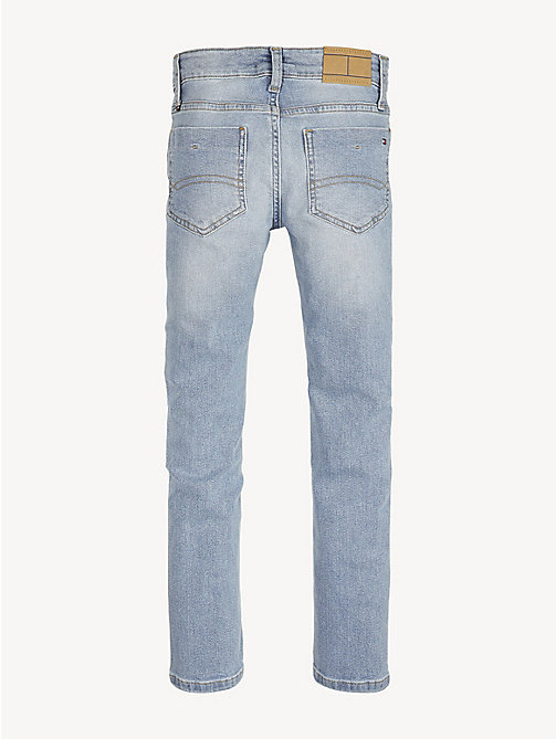 TOMMY HILFIGER Scanton stretch slim jeans - SHORE SALT LIGHT BLUE STRETCH - TOMMY HILFIGER Jeans - detail image 1