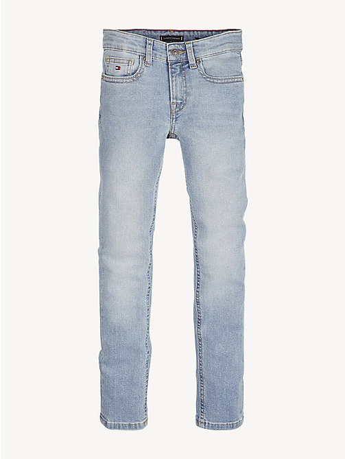 TOMMY HILFIGER Scanton Stretch Slim Jeans - SHORE SALT LIGHT BLUE STRETCH - TOMMY HILFIGER Jeans - main image