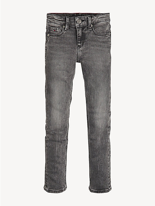 TOMMY HILFIGER Scanton slim fit jeans - PIER GREY BLACK STRETCH - TOMMY HILFIGER Jeans - detail image 1