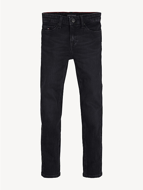 TOMMY HILFIGER Skinny Fit Jeans mit Stretch - COVE BLACK STRETCH - TOMMY HILFIGER Jeans - main image 1