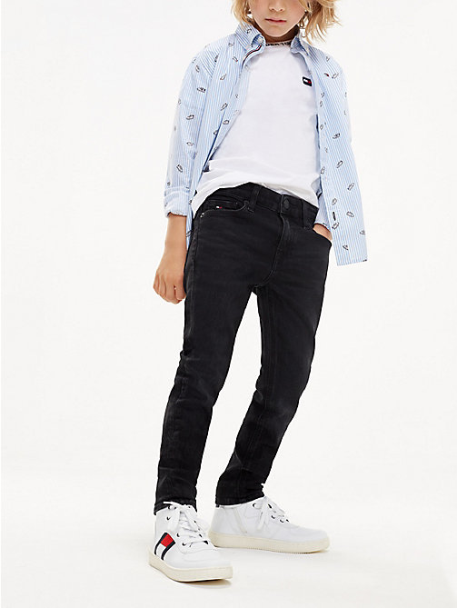 TOMMY HILFIGER Jeans skinny stretch - COVE BLACK STRETCH - TOMMY HILFIGER Jeans - immagine principale