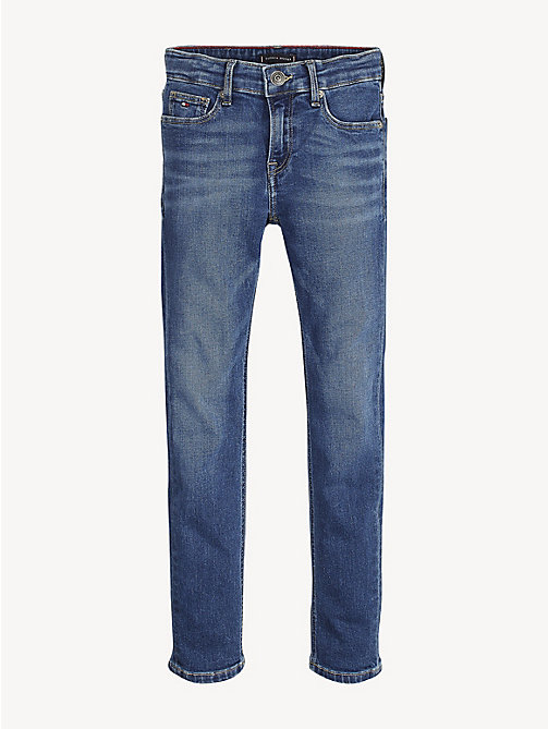 TOMMY HILFIGER Scanton Slim Fit Jeans - AVENUE MID BLUE STRETCH - TOMMY HILFIGER Jeans - main image
