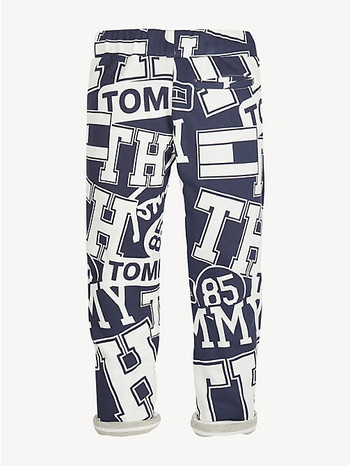 TOMMY HILFIGER Pure Cotton 1985 Logo Joggers - BLACK IRIS - TOMMY HILFIGER Trousers & Shorts - detail image 1