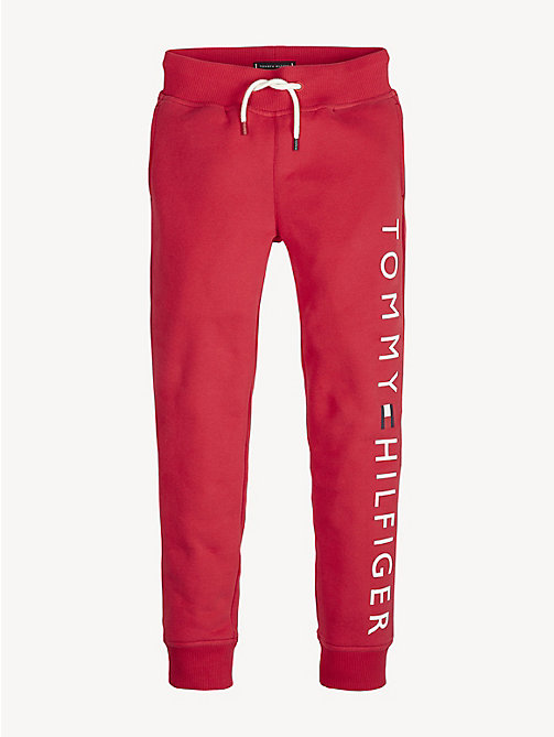 TOMMY HILFIGER Logo Joggers - LYCHEE - TOMMY HILFIGER Trousers & Shorts - detail image 1