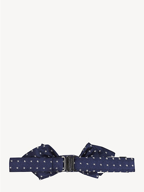 TOMMY HILFIGER Kids' Pure Silk Star Bow Tie - INDIGO BLUE - TOMMY HILFIGER Shoes & Accessories - detail image 1