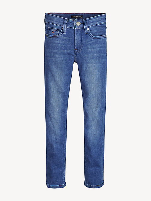 TOMMY HILFIGER Simon Skinny Fit Jeans - VILLE MID BLUE STRETCH - TOMMY HILFIGER Jeans - main image