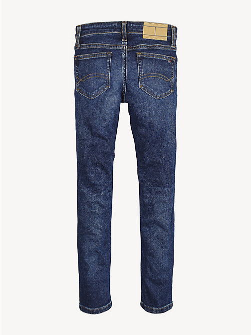 TOMMY HILFIGER Slim fit tapered jeans - HEADLAND DARK BLUE STRETCH - TOMMY HILFIGER Jeans - detail image 1