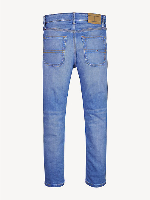 TOMMY HILFIGER Carpenter Faded Straight Jeans - AVENUE BRIGHT BLUE STRETCH - TOMMY HILFIGER Jeans - detail image 1