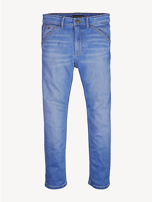 TOMMY HILFIGER Straight carpenter jeans met fading - AVENUE BRIGHT BLUE STRETCH - TOMMY HILFIGER Jeans - main image