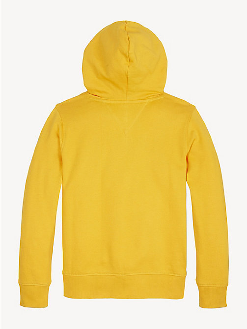 TOMMY HILFIGER Logo Hoody - RADIANT YELLOW - TOMMY HILFIGER Sweatshirts & Hoodies - detail image 1
