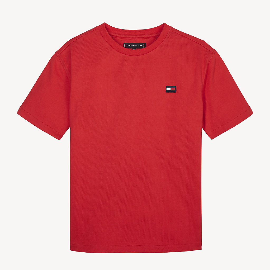 Tommy Hilfiger - Camiseta Essential con cuello redondo - 1