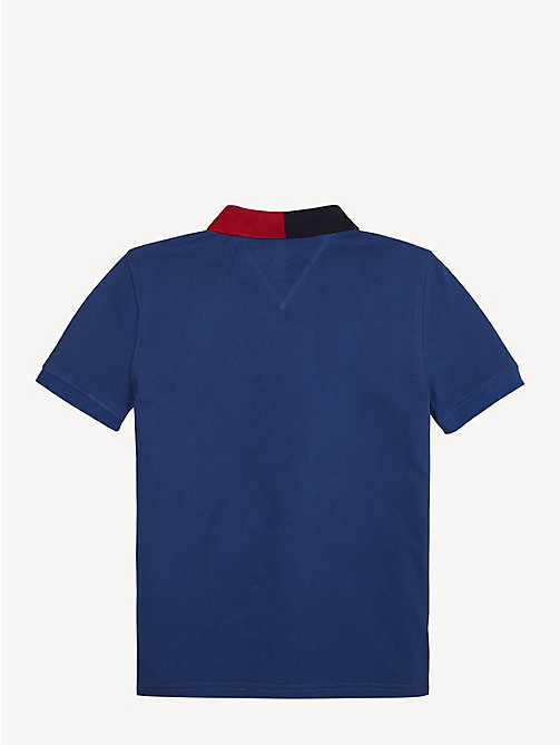 TOMMY HILFIGER Colour-Blocked Polo - LIMOGES - TOMMY HILFIGER T-shirts & Polos - detail image 1